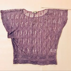 Forever 21 Tops - Forever 21 lace dolman top